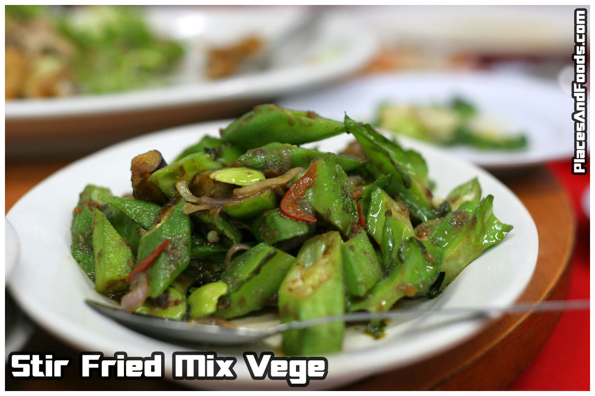 stir fried vege