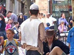 Sunday scene (jglsongs) Tags: city people israel jerusalem    yerushalayim  benyehudastreet benyehuda