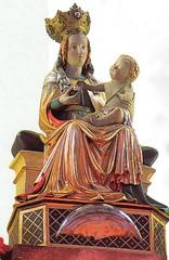 """Birnau, Gnadenbild der """"lieblichen Mutter"""""""