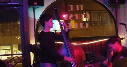 jazz band at The Press Club