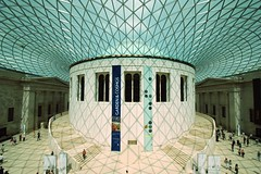 Great Court, British Museum, London (stephenk1977) Tags: uk england london square nikon shadows dome britishmuseum tamron quadrangle readingroom greatcourt d60 queenelizabethii 1024mm