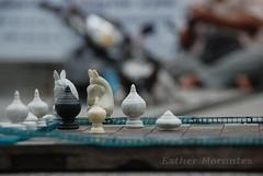 nos vamos de aqui! (Isthare) Tags: caballos juego ajedrez tablero piezas isthare