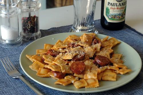 Chorizo Ravioli