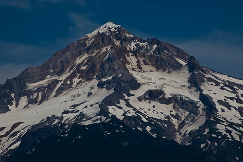 Mt Hood from E Lolo Pass Rd
