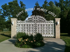 Saint Peter's Pearly Gates