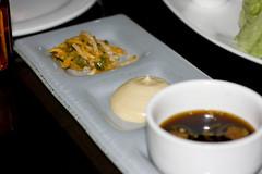 Papaya Kimchi, Miso Mayo, Jalapeno Soy