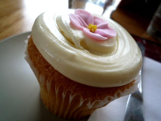 Mitte cupcake