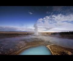 Geysir. Iceland (Nöé) Tags: iceland islandia hotspring geothermal geysir caliente geiser geotermal naturalsprings the4elements nöé adventureiceland geiserislandia noeliamagnusson wwwnoeliamagnussoncomnöénoemagnusson nöémagnusson