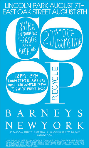 Loomstate + Barneys Chicago Invite
