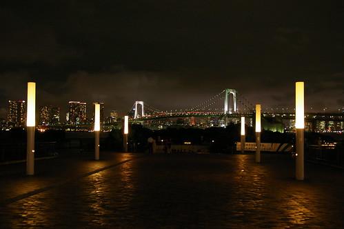 雨上がりのレインボーブリッジ