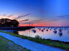 Plymouth Harbor Sunset (PapaDunes) Tags: ocean sunset harbor mayflower cloudscapes plymouthma plymouthharbor diamondclassphotographer theunforgettablepictures