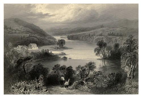 013 Escena en el rio San Francisco cerca de Sherbrooke 1842