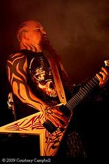 Kerry King of Slayer (photobycourtney) Tags: slayer davelombardo kerryking jeffhanneman tomaraya 2009rockstarmayhemtour