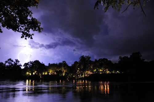 Thunderstorm on the River Kwai