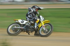 Flat Track Racing at Aztalan August 2009
