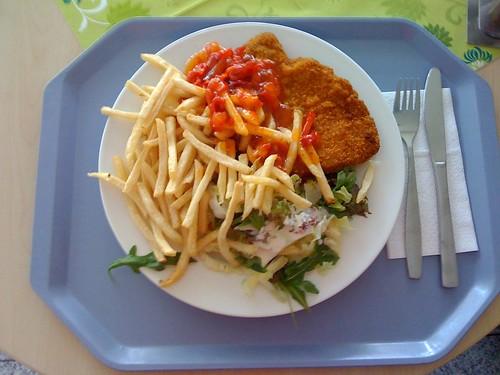 Schnitzel süß-sauer-scharf