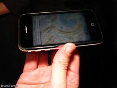 GPS - Mapa que gira com o aparelho