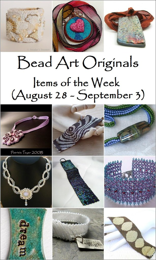 Bead Art Originals - Items of the Week (8/28-9/3)