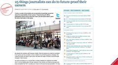 25 things journalists can do to future-proof their careers | Blog | Econsultancy_1251421925315