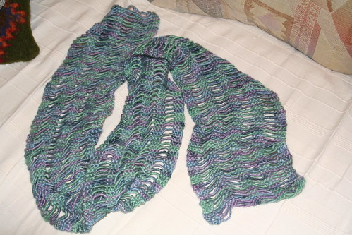 Waterfall Scarf in Abalone