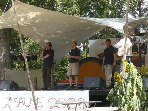 Rolf Biskupek, Ronald Barth und Florian Fritsch