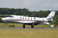 CS-DFR - Netjets Europe - Cessna 560XL Citation Excel - Luton - 090706 - Steven Gray - IMG_0173