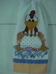 GALINHA NO NINHO (*Sonhos em Retalhos*) Tags: galinha patchwork cozinha patchcolagem panodeprato