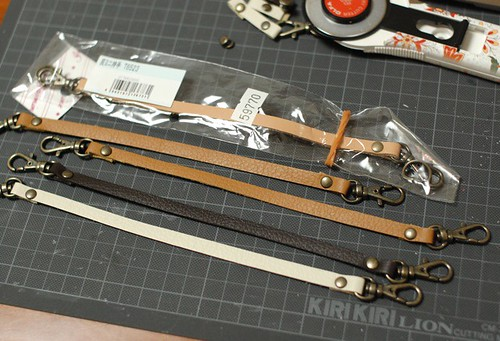 Making leather straps 5