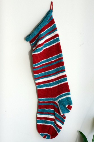 stripey stocking