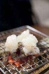 活ダコ炭焼き, 魚道楽 二条市場店