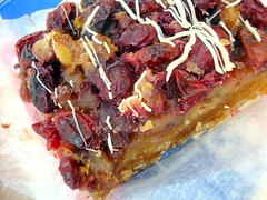 Cranberry walnut bar, Alliance Bakery, Chicago