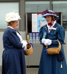 Victorian greeters