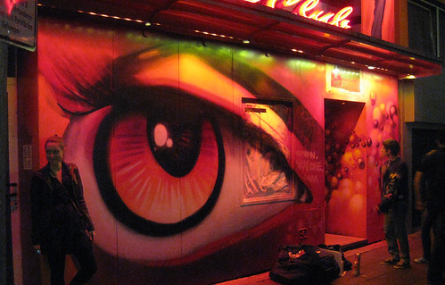 SEAK: Painting the Outside of the Infamous Rose Club