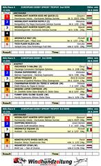 Programme CGRC Europen Greyhound & Whippet Semi Finals 2009, Rabapatona