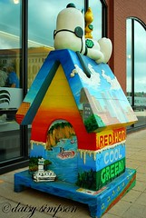 Dog Gone Green Snoopy House