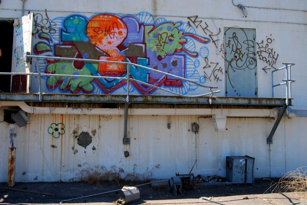 JPEE Graffiti Piece - Sonoma County, CA.
