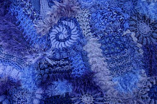 Freeform Knitting & Crochet close-up