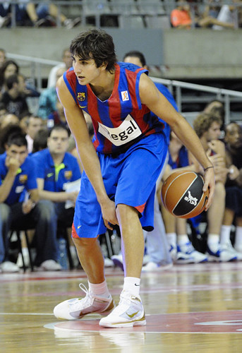 Ricky Rubio basketball