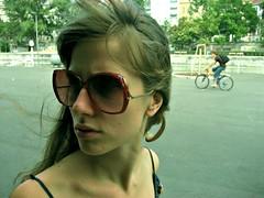 (Ana Rajcevic) Tags: street autumn summer portrait woman berlin me girl beauty face look sunglasses germany walking blonde anarajcevic artisawoman