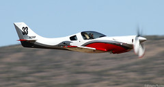 Lancair Legacy (EverydayTuesday) Tags: speed aircraft nevada fast reno 2009 warbird rara supersport fenceline stead airracing renoairraces canon70300is propblur canonef70300mmf456isusm pylonracing canon40d nationalchampionshipairraces darrylgreenamyer valleyofspeed n33xp race33