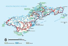 Map: American Samoa