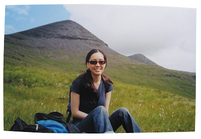 Mountain Climbing on Ben More, in Scotland