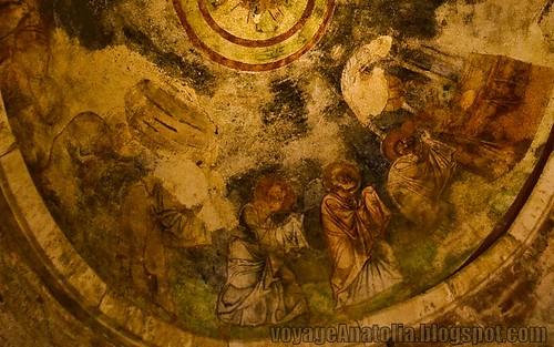 Fresco Detail at Church of St. Nicholas at Myra