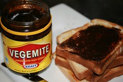 Vegemite on Toast  (on Plate) II