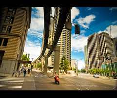 Seattle (David Parks - davidparksphotography.com) Tags: road seattle city cruise urban david washington nikon parks sigma d200 1020mm filters density neutral cokin gradual gnd