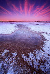 Freeze Up (Wolfhorn) Tags: winter snow cold west ice nature alaska start landscape long plateau wilderness a of