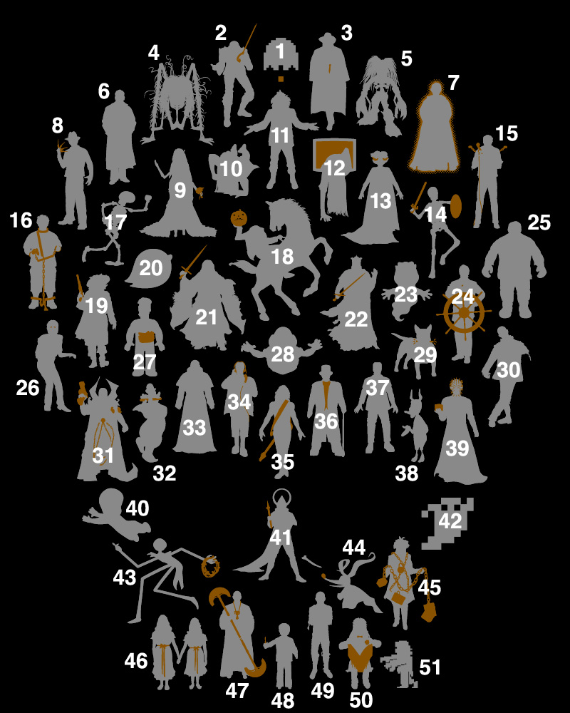 Thumb Perfiles de muertos vivientes – undeadWe T-shirt