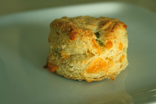 Hatch cheddar biscuits are perfect with breakfast, soup or as a snack. Adjust the spice and cheesiness to your taste!