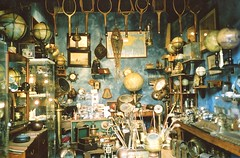 antique market (Adele M. Reed) Tags: old paris france beautiful shop club 35mm vintage golf de globe nikon things tennis porte antiques rackets puces clignancourtfleamarketles