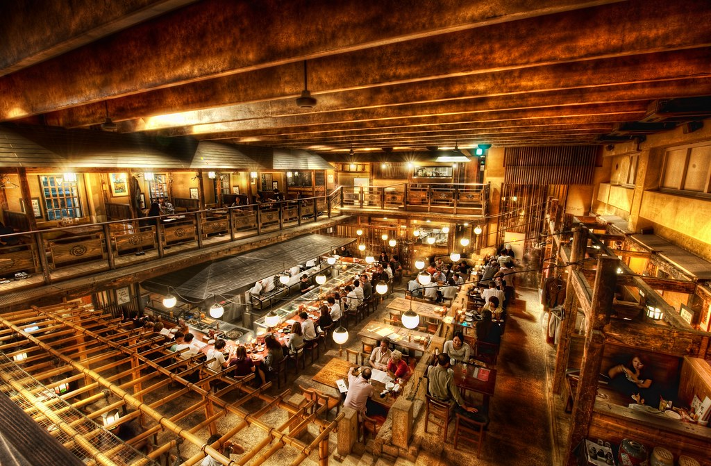 The Restaurant in Tokyo that Inspired that crazy scene from Kill Bill